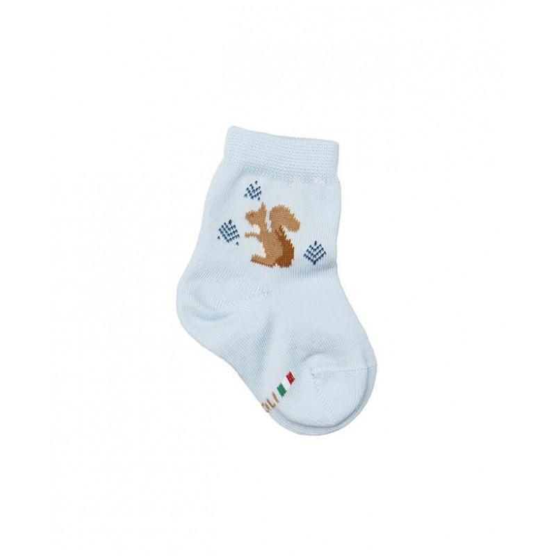 corto neonato con motivo scoiattolo